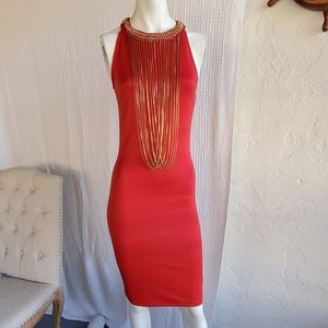 Miss Avenue red dress sz. S